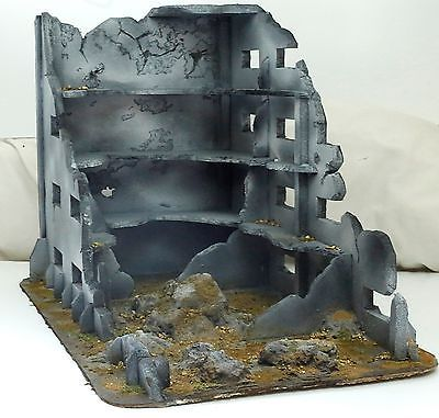 Ruined Building (Large) - 28mm - Wargaming Scenery/Terrain