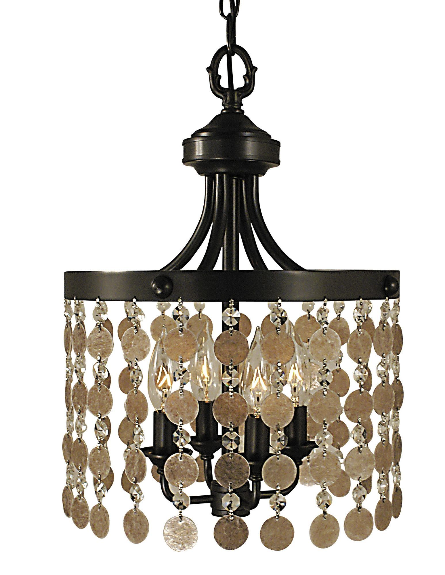 Naomi 4 Light Candle Chandelier