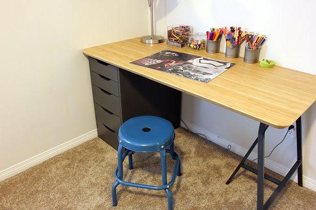 Image result for ikea hilver desk hack workspace envy