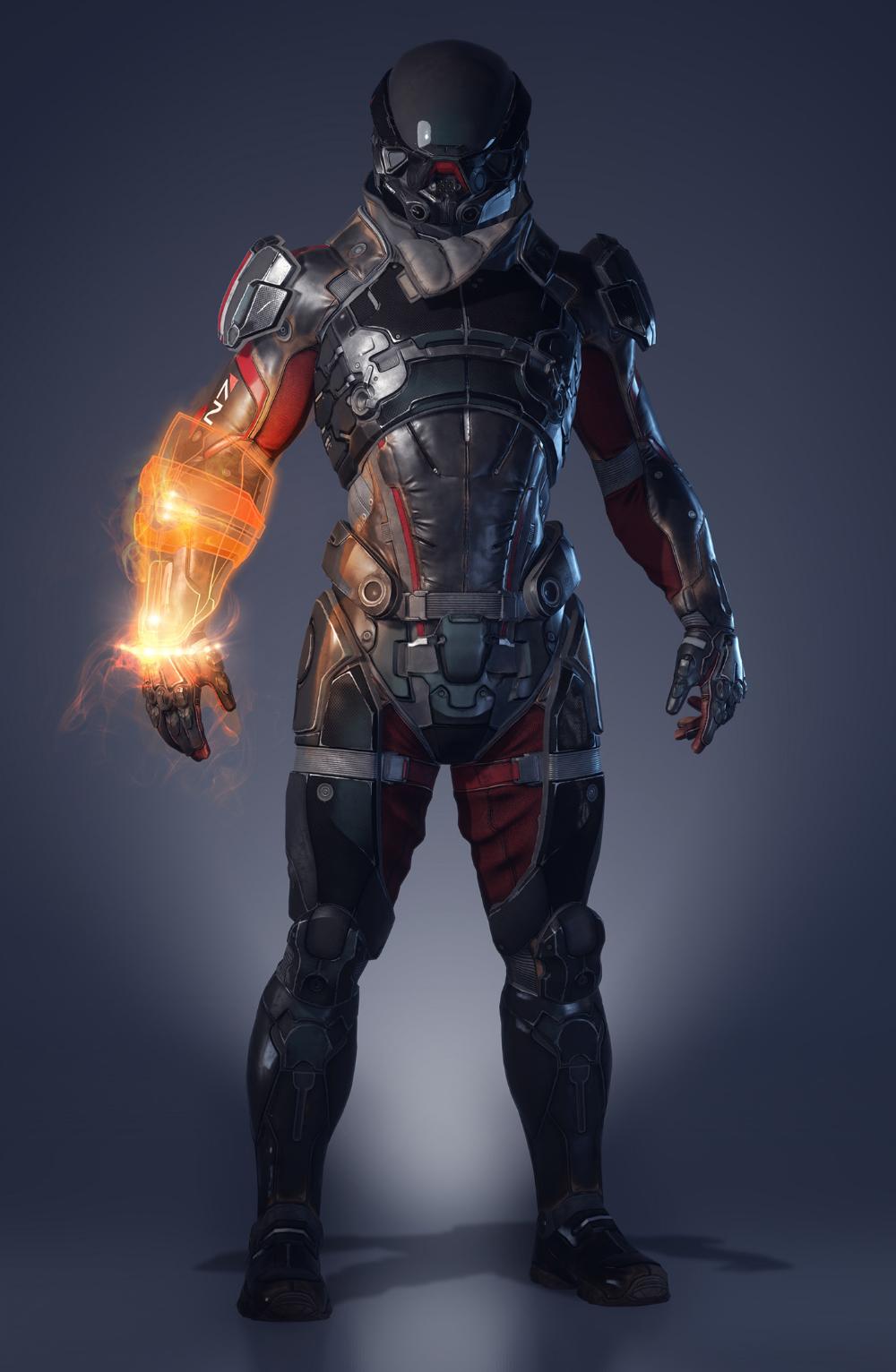Mass Effect Andromeda User Interface Design On Behance Futuristic Armour Mass Effect Mass Effect Art