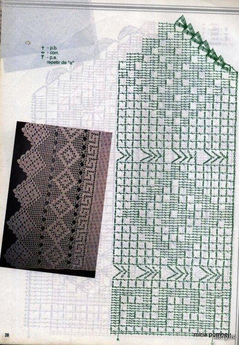 crochet edging magazine | make handmade, crochet, craft | cenefas ...