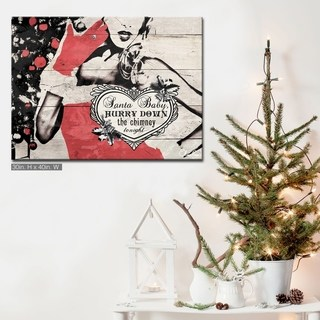 Overstock Com Online Shopping Bedding Furniture Electronics Jewelry Clothing More Christmas Artwork Glam Christmas Decor Traditional Christmas Decorations