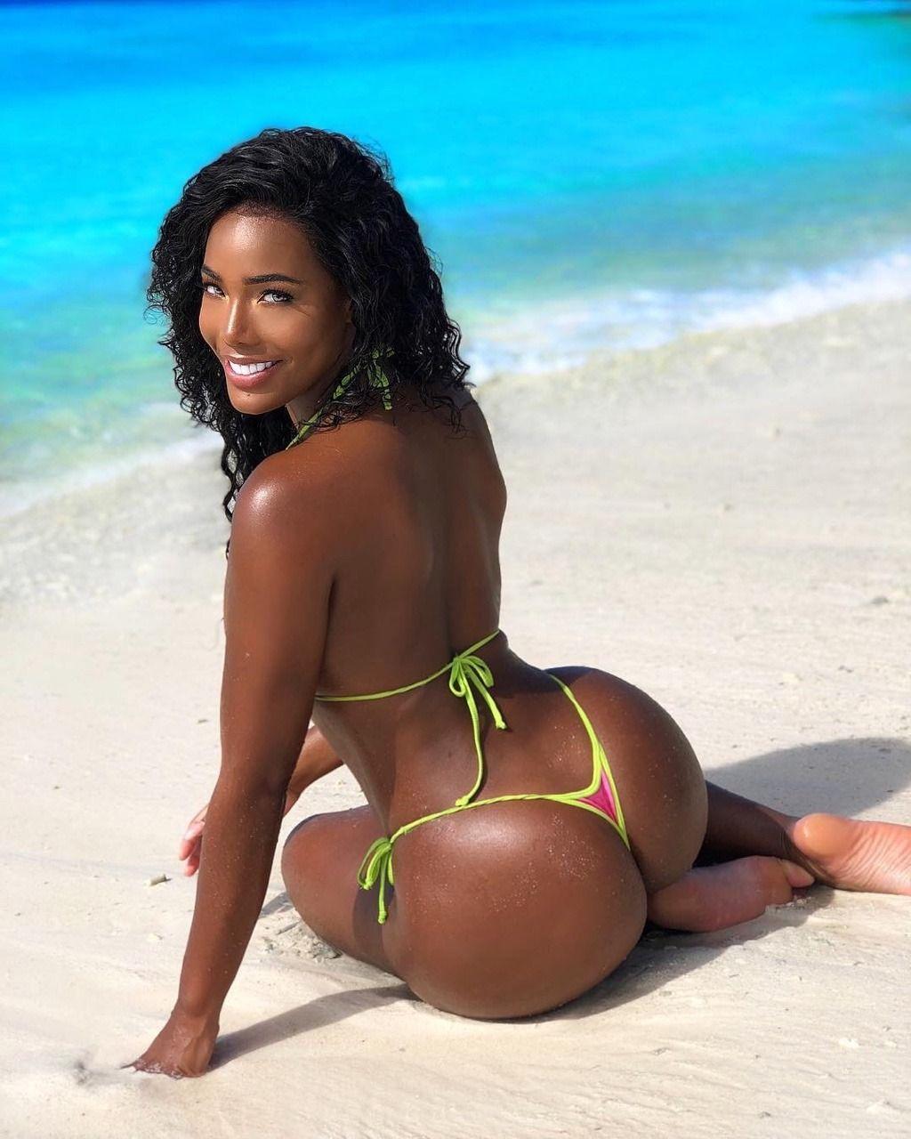 Hot light skin black chick natural tits 9