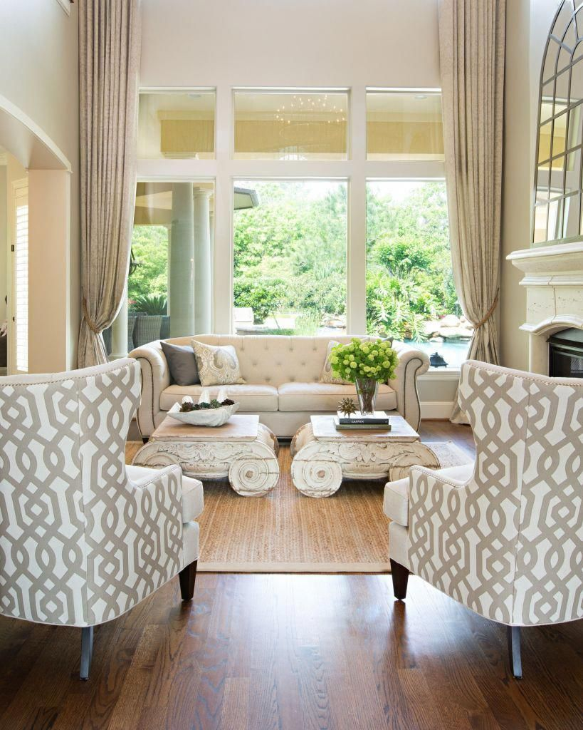 Step into the formal living room and you'll notice the ...