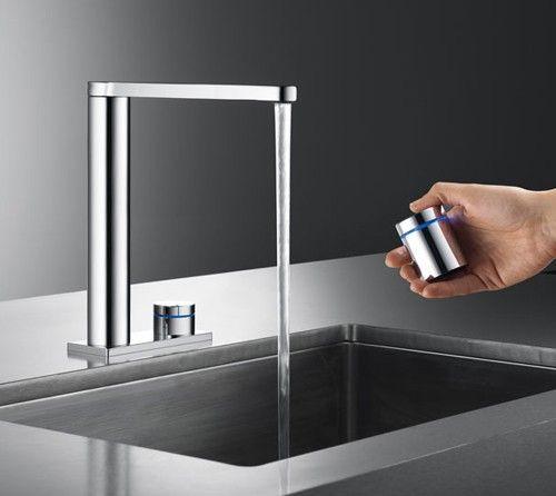 Colors Show The Temperture Contemporary Kitchen Faucets Modern Kitchen Faucet Kitchen Faucet