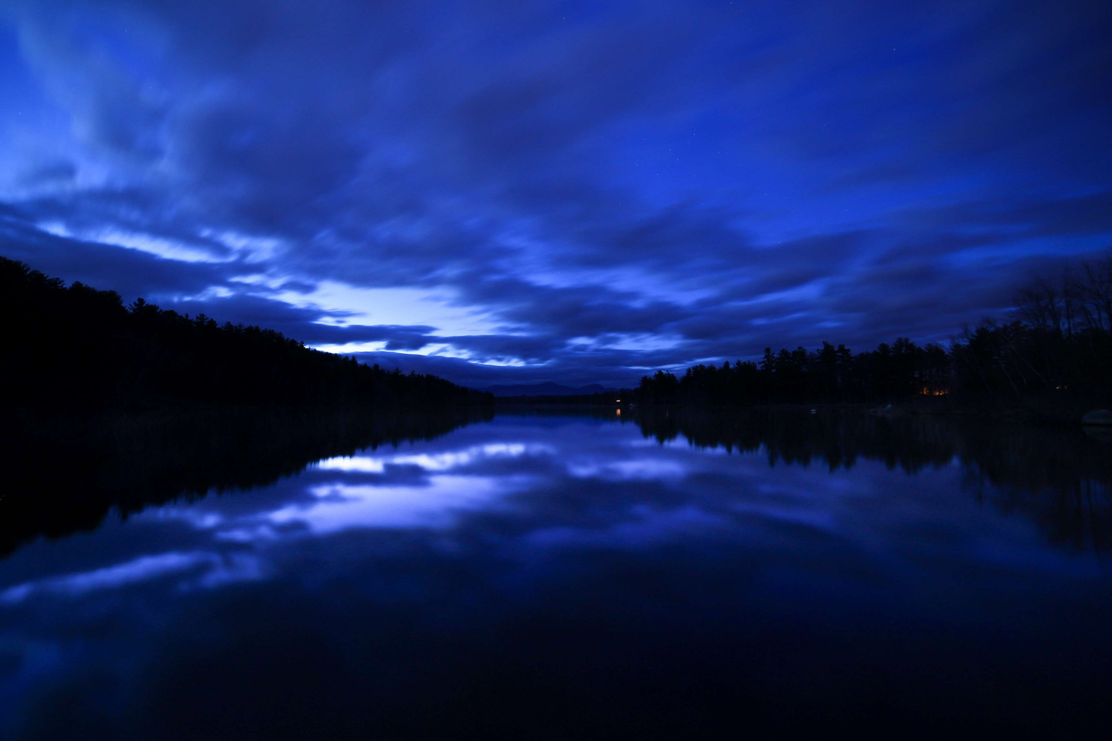 Clouds Lake Landscape Nature Night Photography Stars Trees Water Landscape Lake Landscape Nature Photos