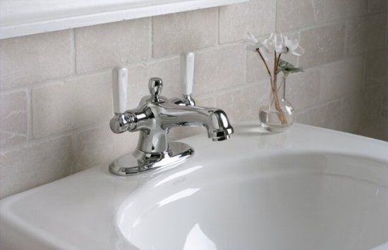 K-10579-4P-CP Kohler Bancroft Monoblock Lavatory Faucet with ...
