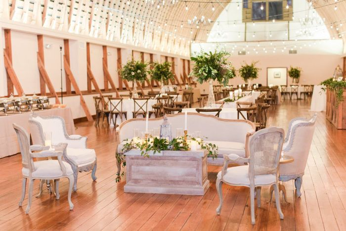 Can you believe it A wedding with no flowers Tanglewood Church and