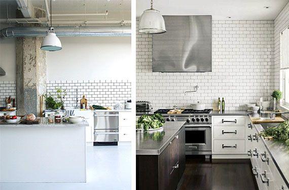 Azulejos color blanco para tu cocina azulejos blancos - Cocinas alicatadas ...