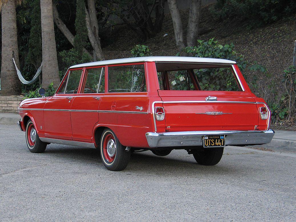 1962 Chevrolet Nova Chevy Ii 400 Station Wagon Chevy Nova Wagon
