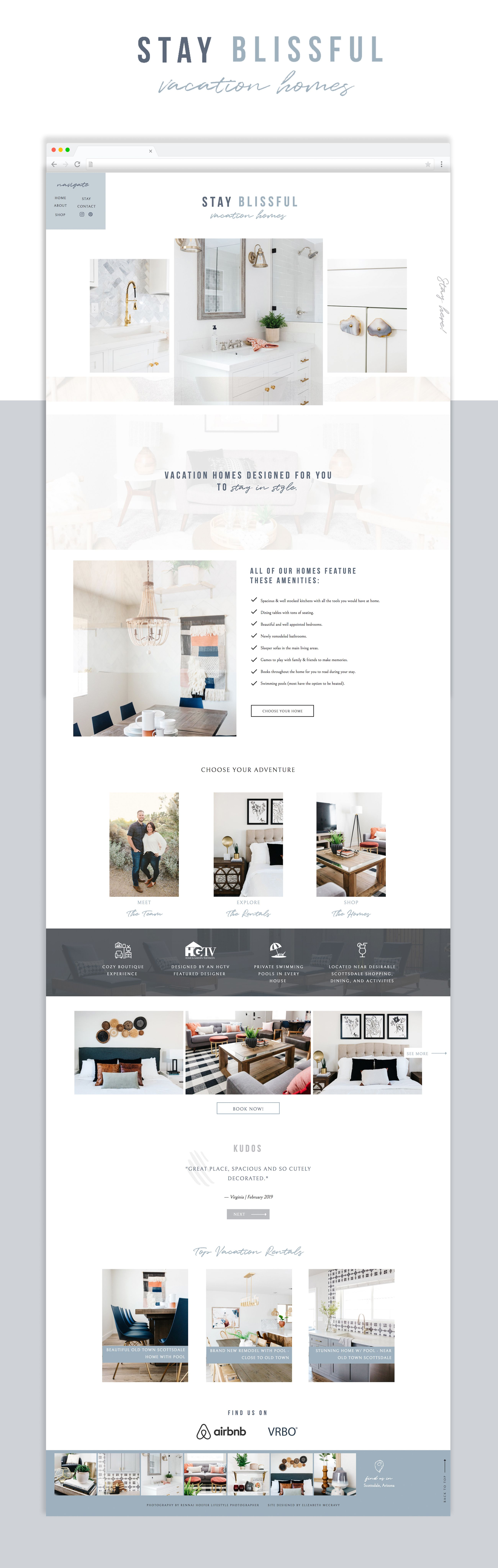 Showit website template for interior designers and home ...