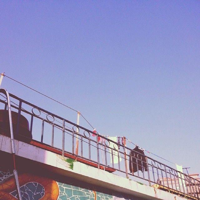 ye__zi / #옥상 에 #빨래 #vintage / #골목 #살림 / 2014 01 05 /