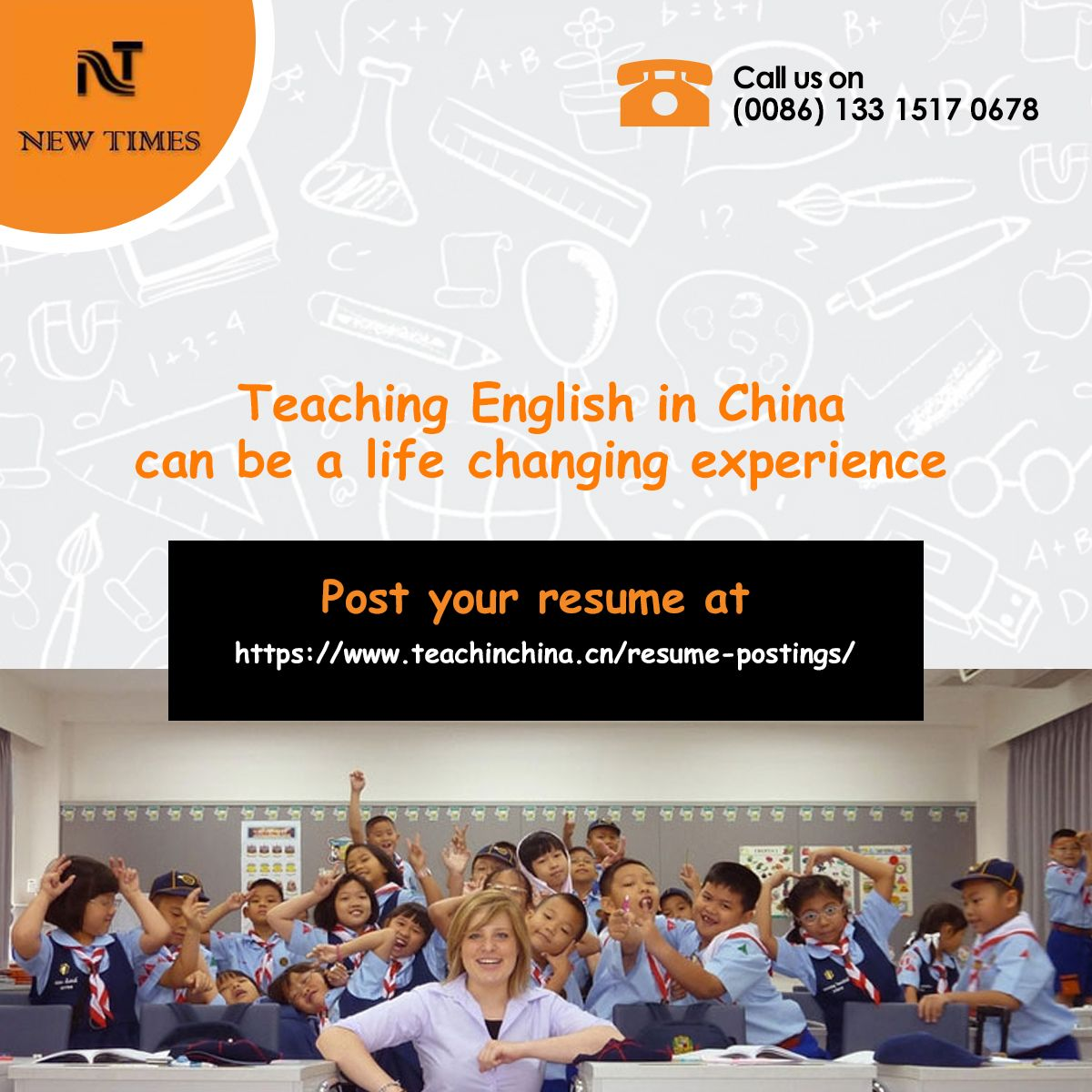 Have you ever hankered to travel and teach English