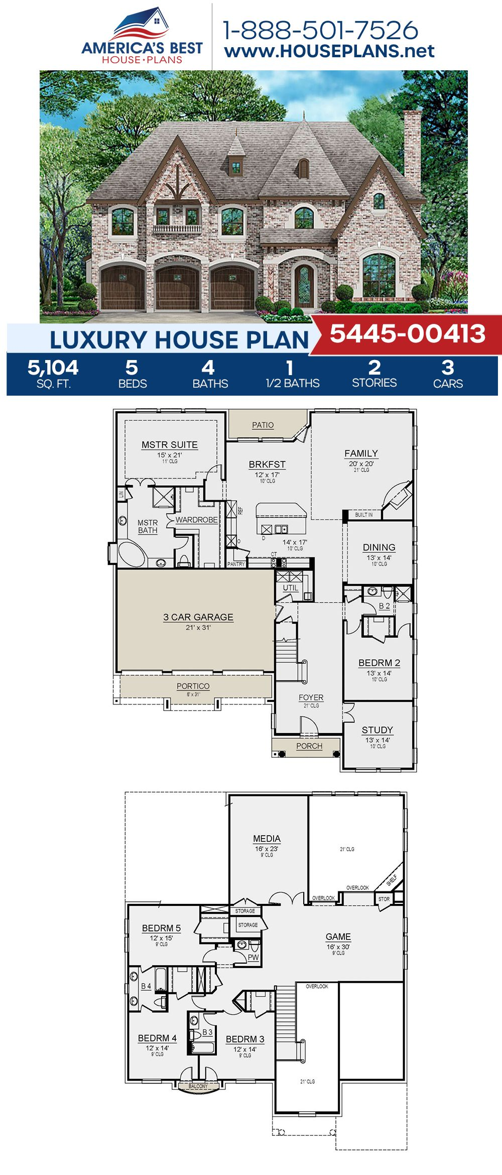 Pin On Luxury House Plans