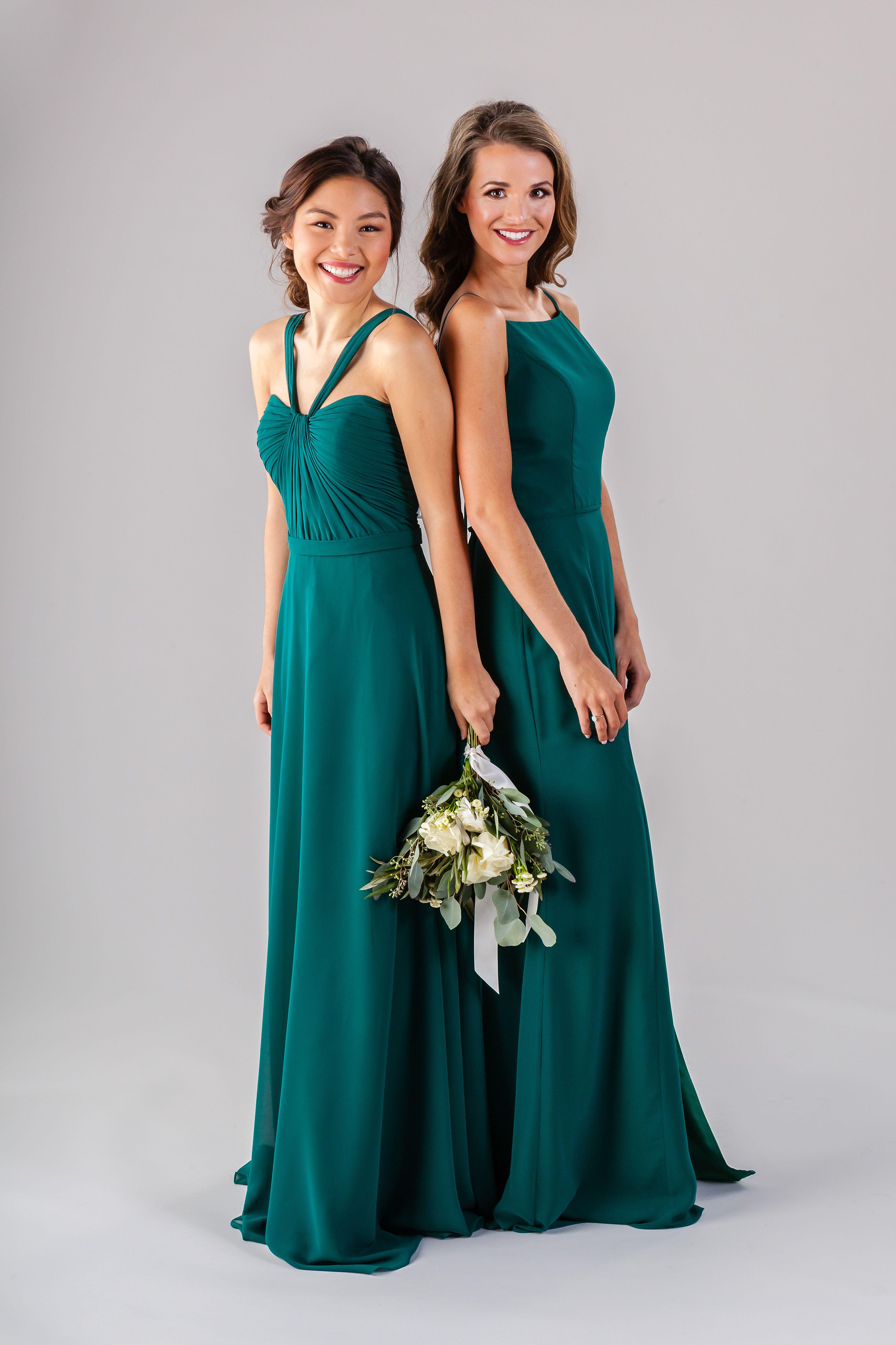 Emerald Green Bridesmaid Dresses Kennedy Blue