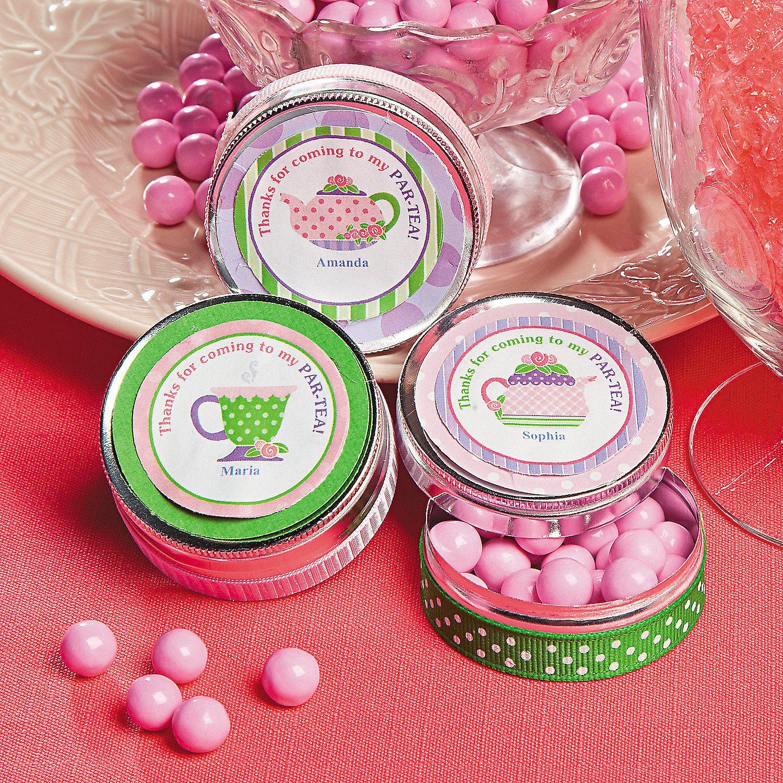 Par Tea Treat Containers Project Idea - OrientalTrading.com   Tea ...