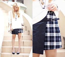 Anastasia Siantar - H&M Jumper, Awakening Tilt Skirt, Charlotte Olympia Pumps - Awakening