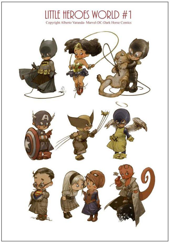 Little Heroes By Alberto Varanda