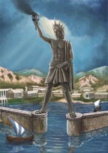 Colossus Of Rhodes Statue Greek Statue Greek Gods