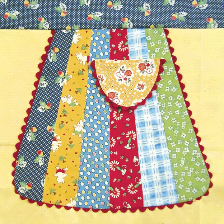 Apron Pattern From Eleanor Burns New Book Quot Quilts From El