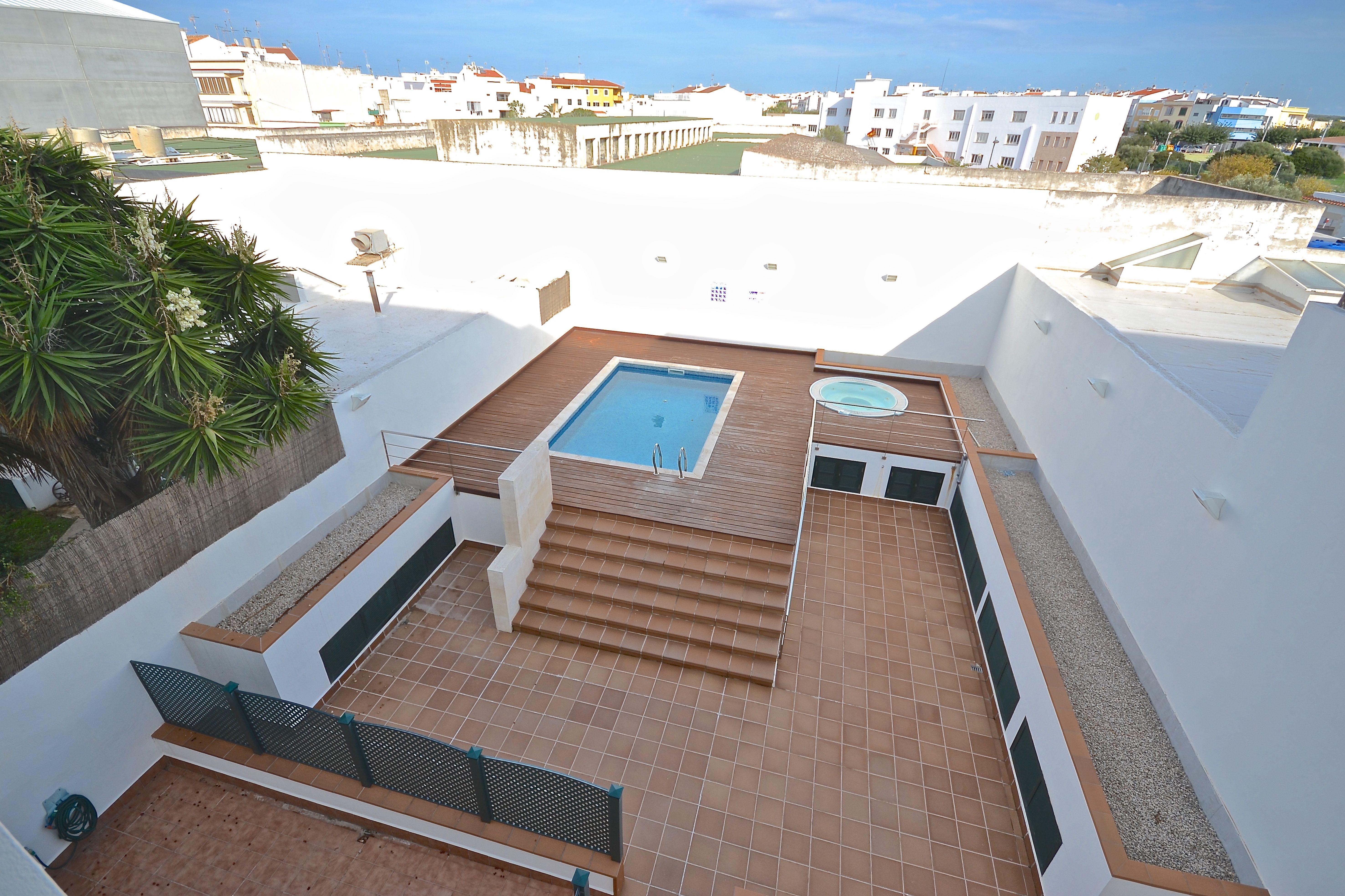 Casa en Menorca con piscina y jacuzzi Csas bonitas