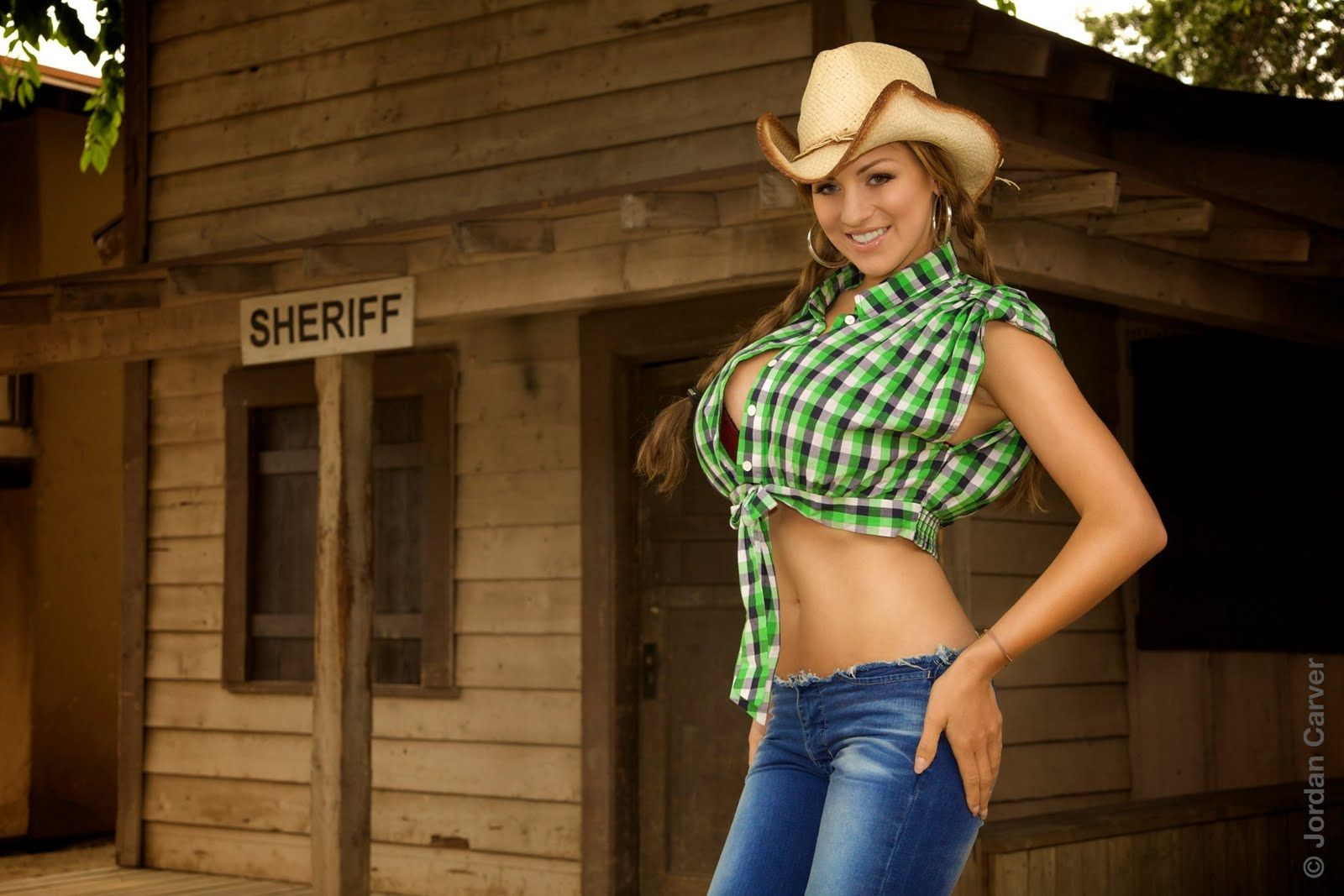 Hot Cowgirl Models Female People Background Wallpapers on ...