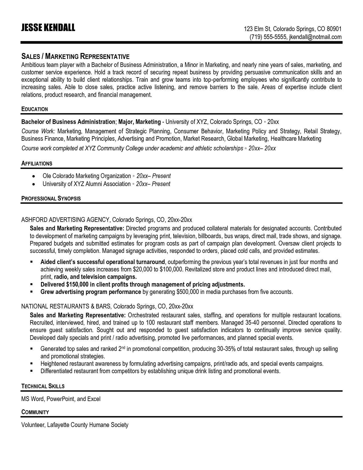 Telecom Sales Resume Manager Sample Apparel Field Engineer Cover