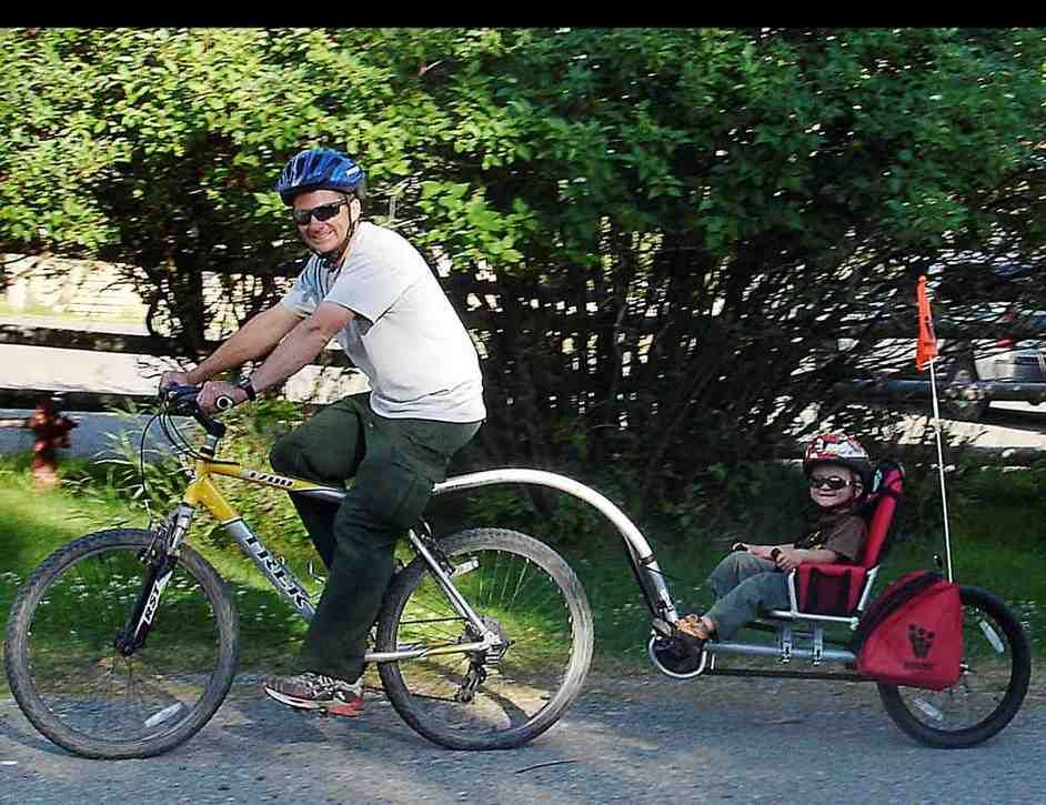 Pull Behind Bicycle Trailer Better Bicycle Trailer Bike Bicycle