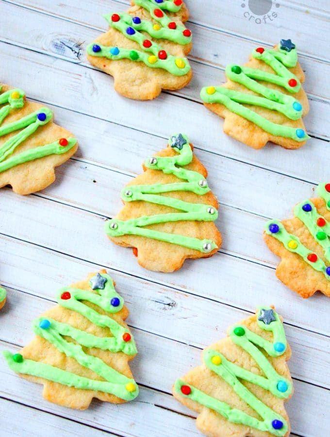 Christmas Cookie Frosting.Christmas Sugar Cookies