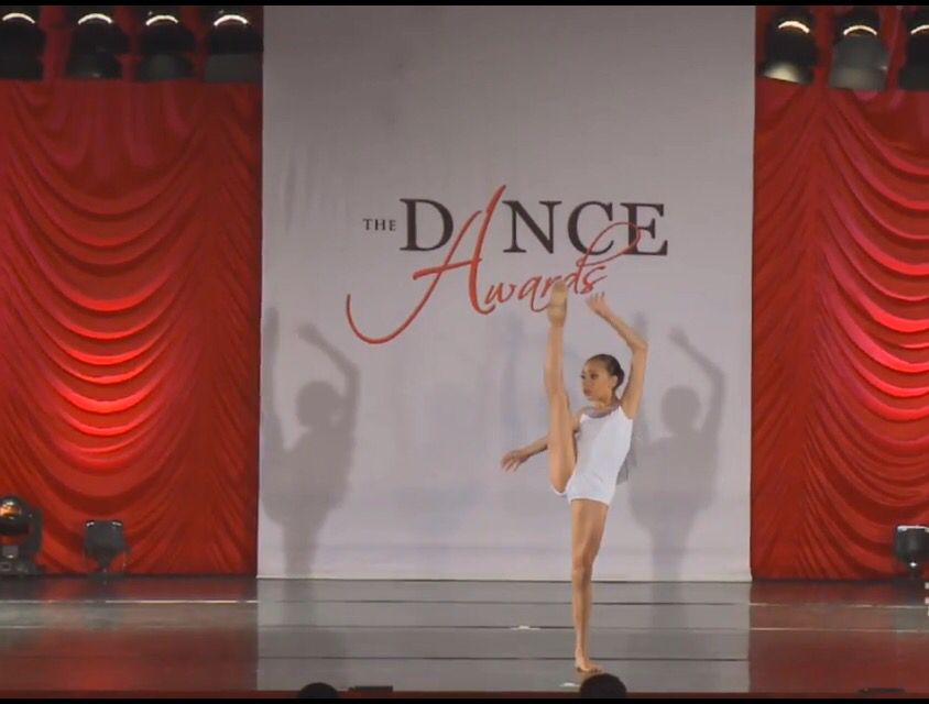 Sophia frilot at the dance awards 2016  Added by @youngprodigies