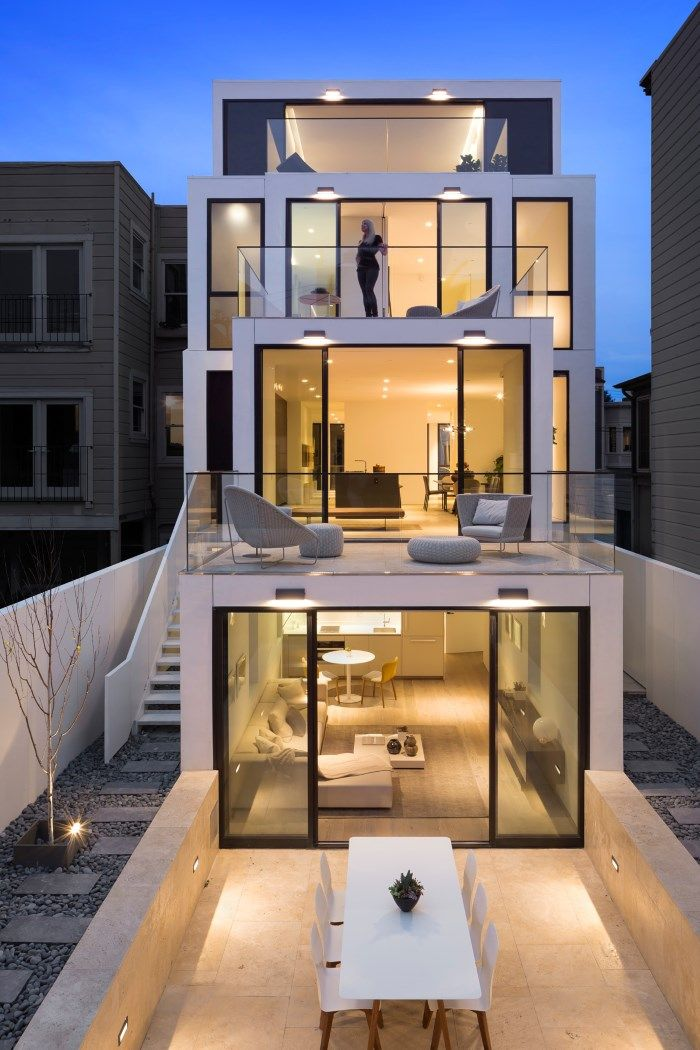50 OAKWOOD STANLEY SAITOWITZ Image 30  Terrace House Design Pinterest Oakwood F C 50th And 30th