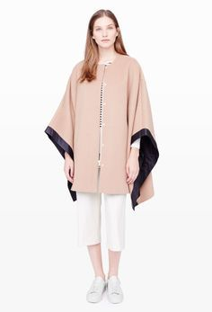 Ponchos are great for wearing inside the house or out-and-about. | Click to shop luxe gifts for her....