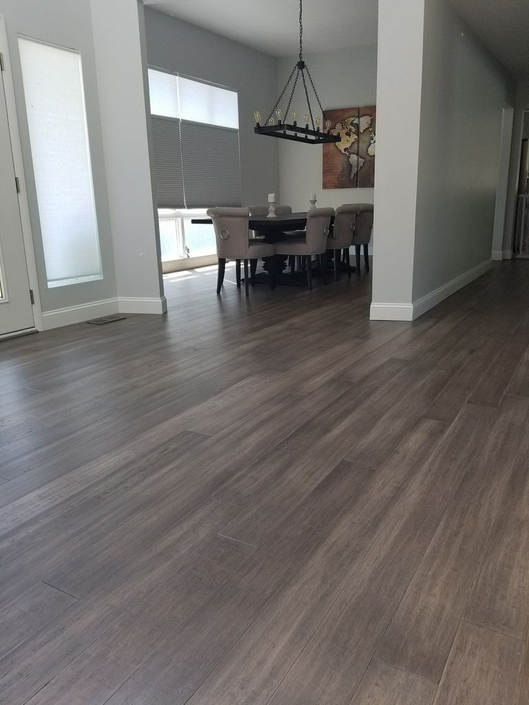 Boardwalk Hardwood Narrow Plank Bamboo Flooring Sample In