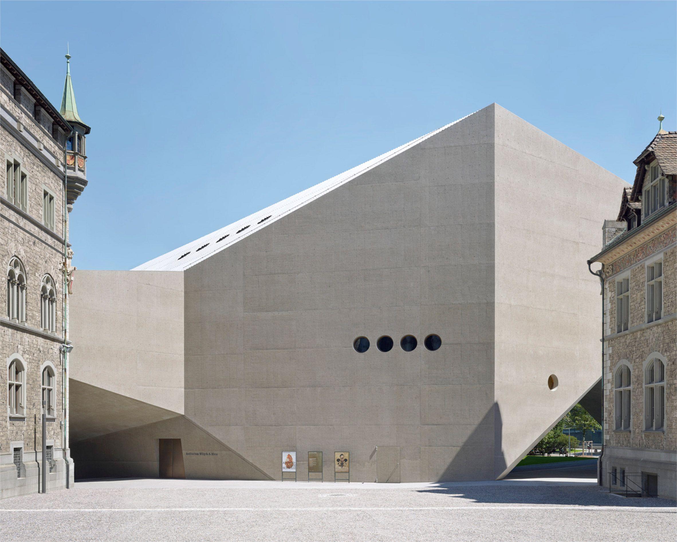 Christ & gantenbein and bureau spectacular named best architecture