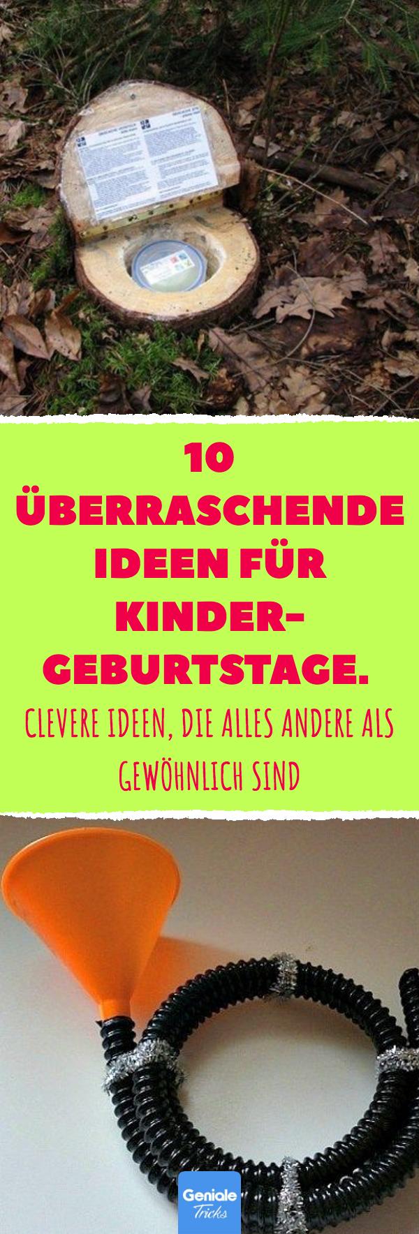 Photo of 10 überraschende Ideen für Kindergeburtstage.