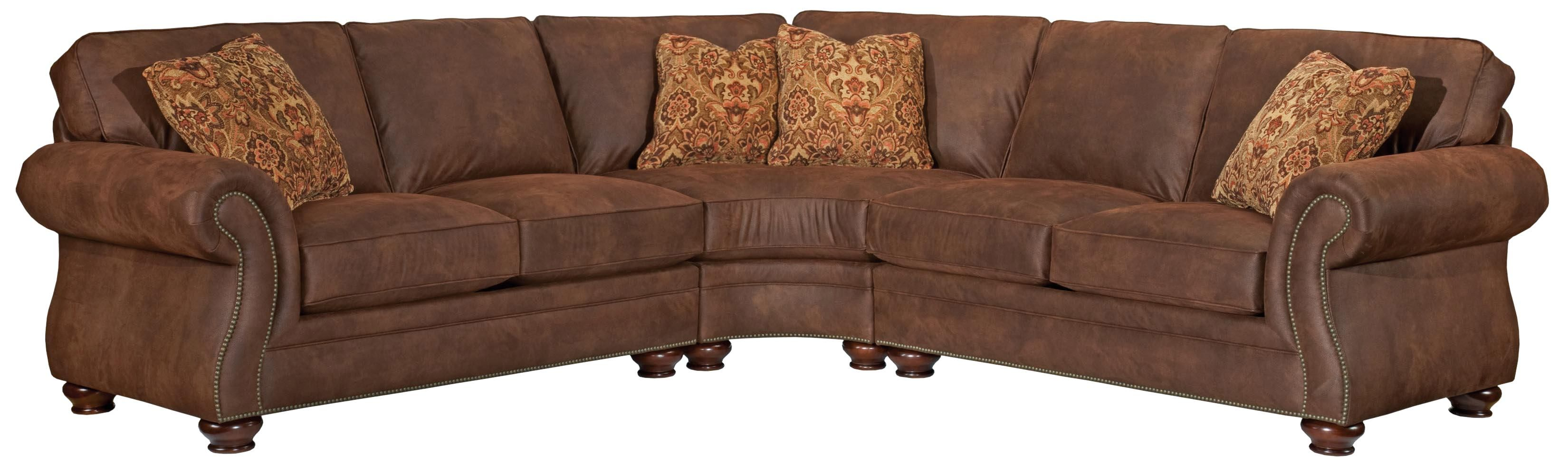5081 Laramie 3 Piece Sectional Sofa By Broyhill Furniture
