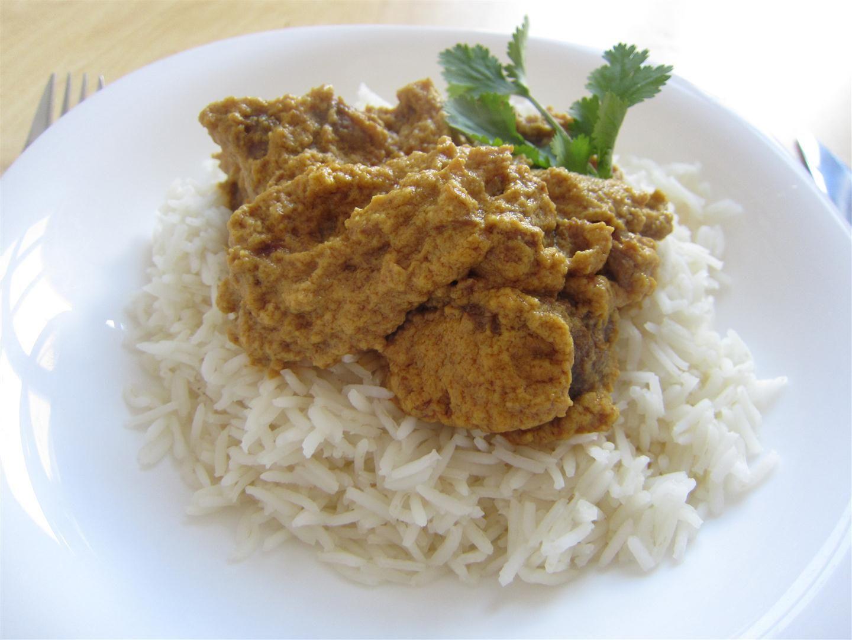 Indonéz rendang curry jóféle marhából - Rántott hús wokban?
