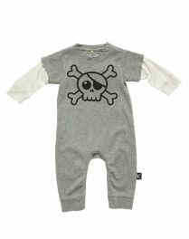 Jumpsuit Big Skull grijs Jumpsuit