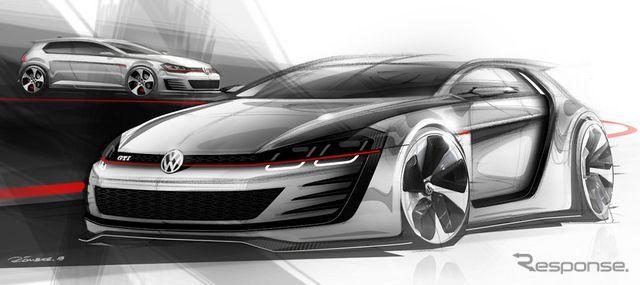Volkswagen Golf Gti New Notice 503ps Monster 1st Picture Image With Images Concept Cars Volkswagen Volkswagen Car