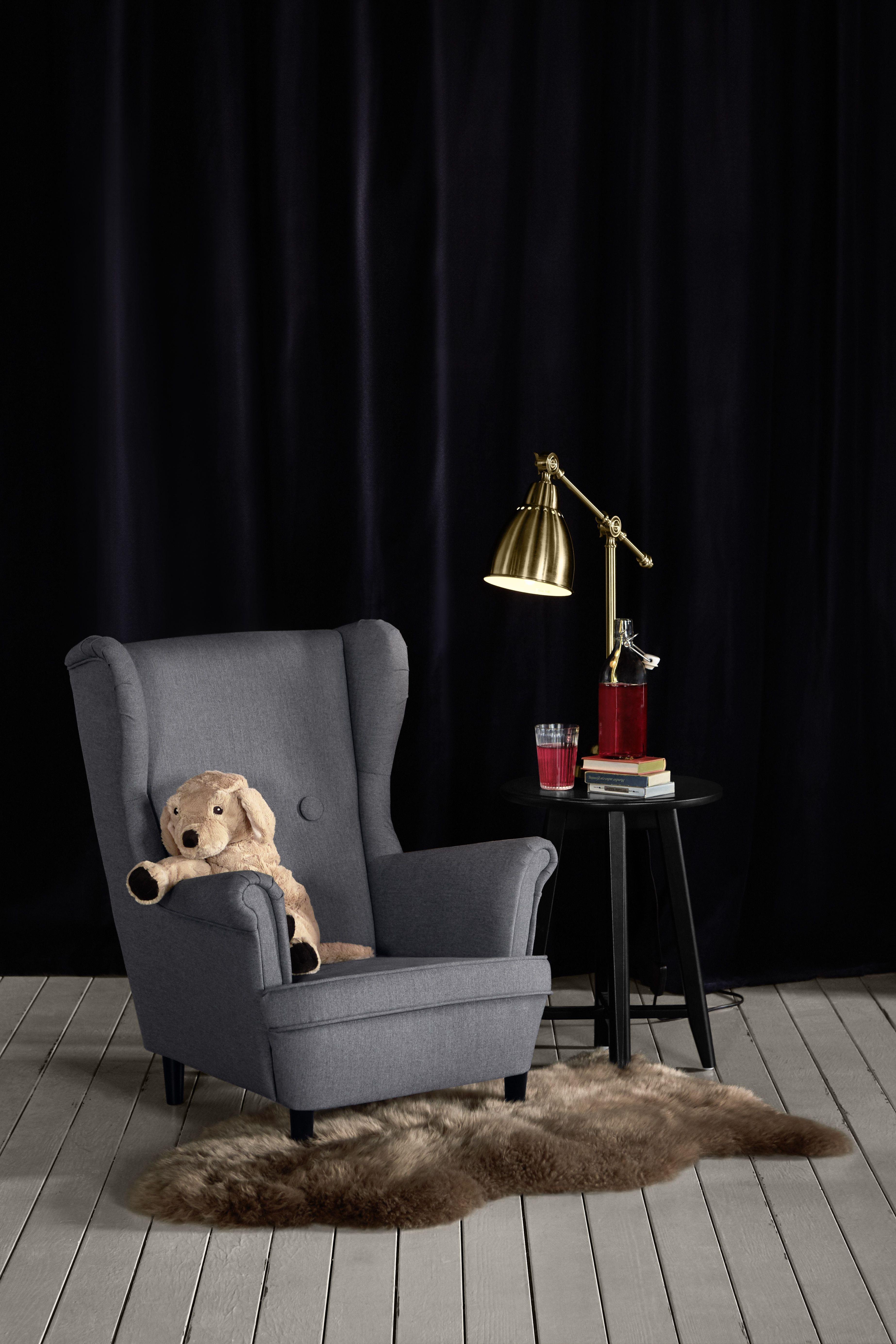 Ikea Sessel Mit Hocker