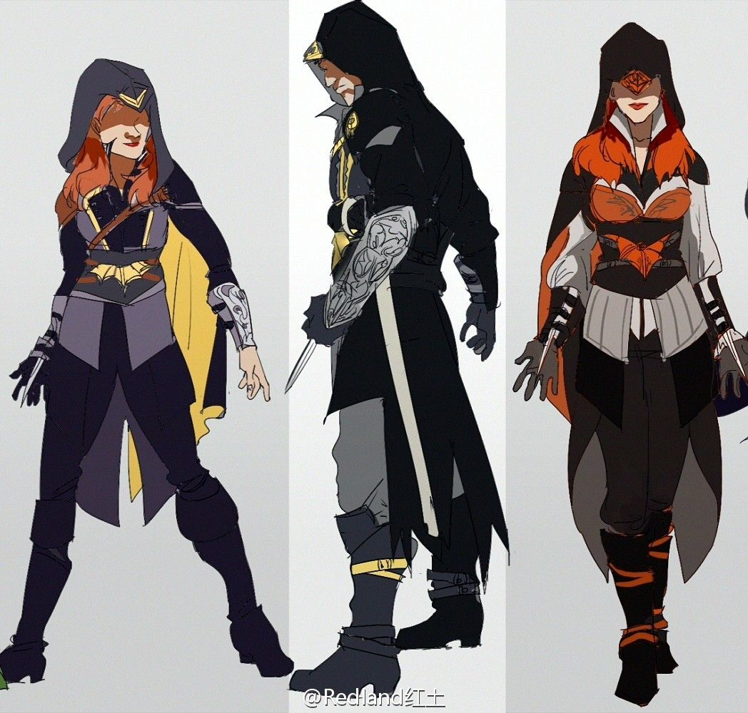Batfam with Assassin's style - Visit to grab an amazing