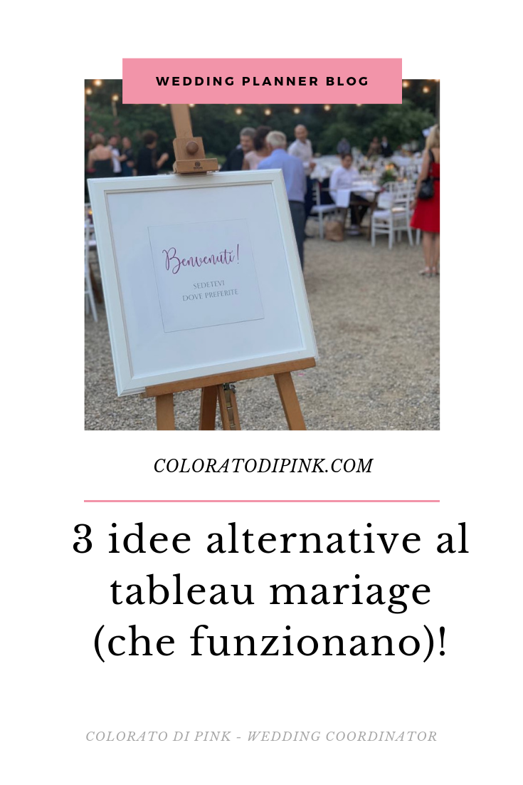 3 idee alternative al tableau mariage   Mariage ...