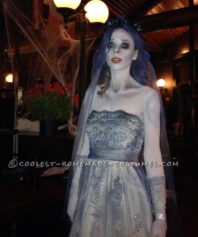 Cool Corpse Bride Homemade Halloween Costume Coolest Homemade