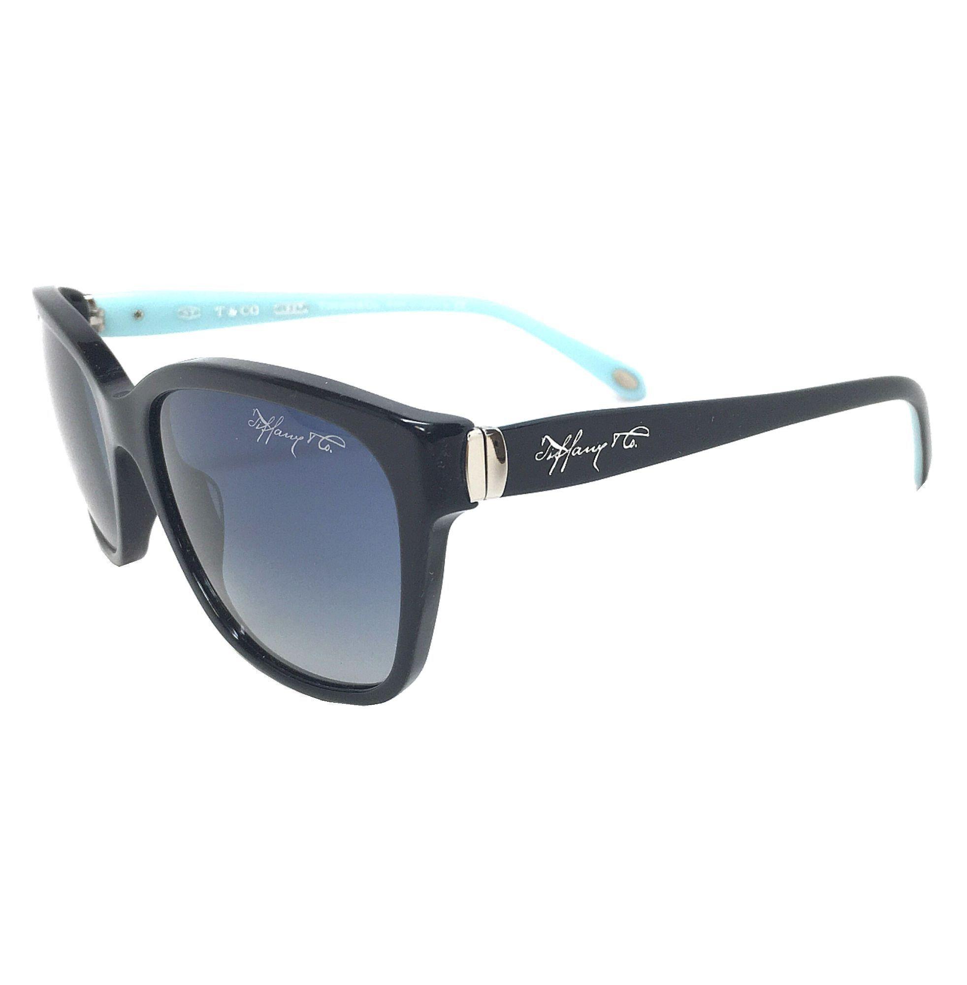 d821b180d8 Tiffany   Co. TF4083 80014L Black  Blue Gradient 56mm Sunglasses ...