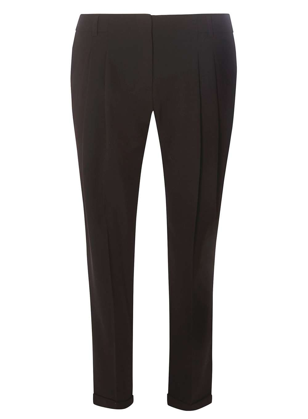 Dorothy Perkins Womens Black Pleat Naples Trousers- Black Black double pleat naples peg trouser. 76% Polyester,19% Viscose,5% Elastane. Machine washable. http://www.MightGet.com/january-2017-13/dorothy-perkins-womens-black-pleat-naples-trousers-black.asp