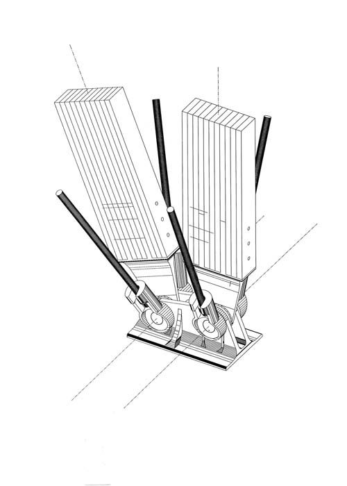 detalle constructivo centro cultural jean marie tjibaou arq renzo piano architektur. Black Bedroom Furniture Sets. Home Design Ideas