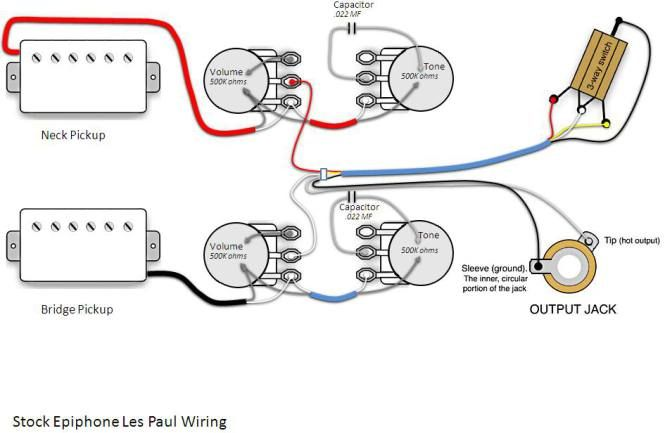 Beautiful Epiphone Les Paul Wiring Schematic Ideas  Images for image wire  gojono   guitar