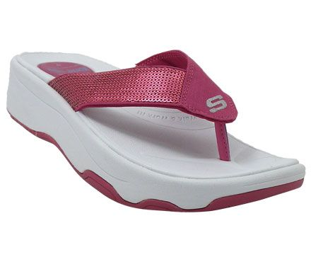 5167e0695f7b7 Womens Skechers Tone Ups Shadow Box Thong Sandal http   www.greatsandals.