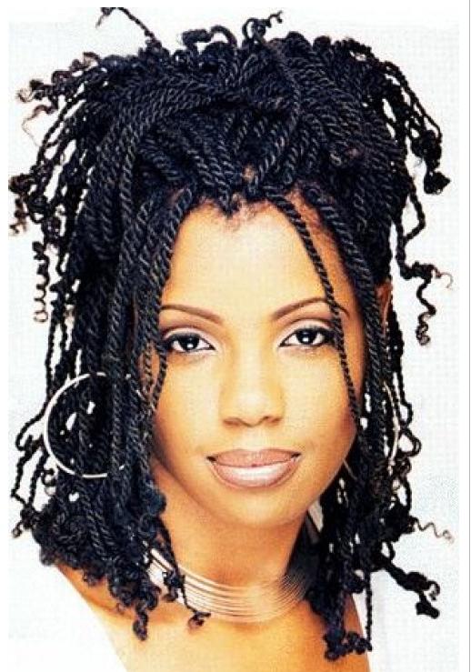 New Hairstyles For Women 2015 Kinky Twist Braids Hairstyles For Black Women  Hair Styles