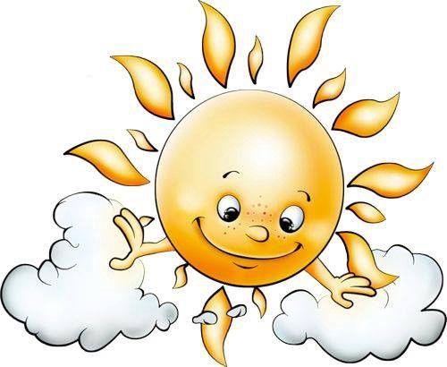 Transparent Cute Sun Picture...hundreds of downloadable clip art pictures!    Pintura sol, Ilustração do sol, Por do sol